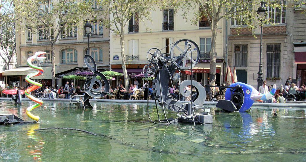 (Fontana Igor Stravinsky, Parigi)