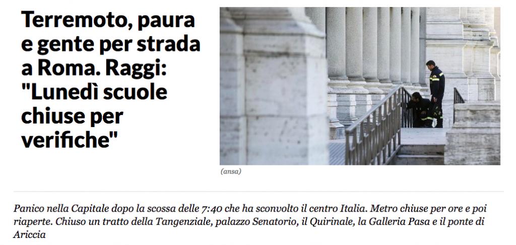 (Repubblica.it 30 ottobre 2016)