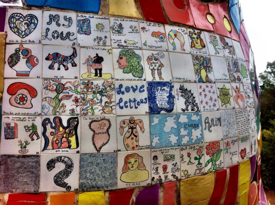 (My Love - Niki de Saint Phalle)