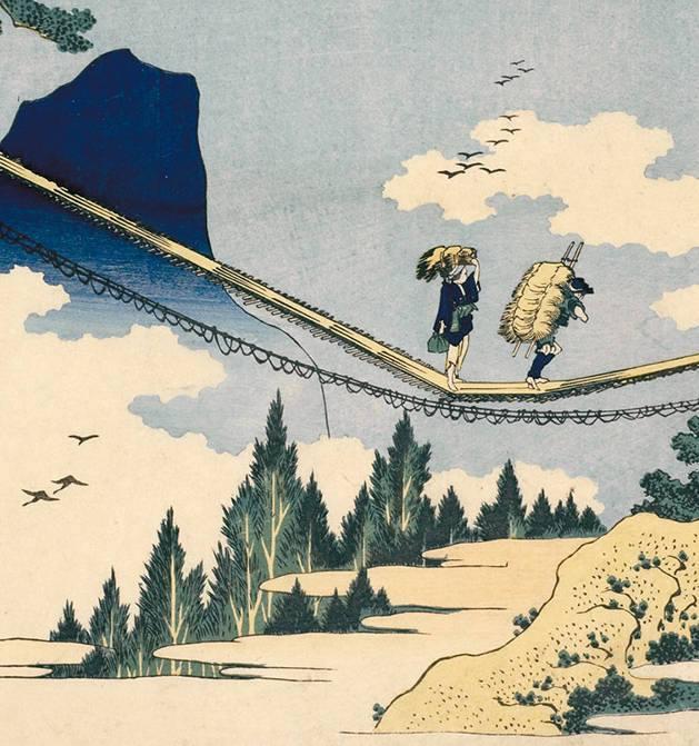 -in-sospensione-sul-ponte-Hida-Etchu